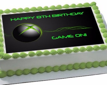 Video game systems edible cake toppers, video game edible cupcake toppers, video game cake topper, video game cupcake toppers
