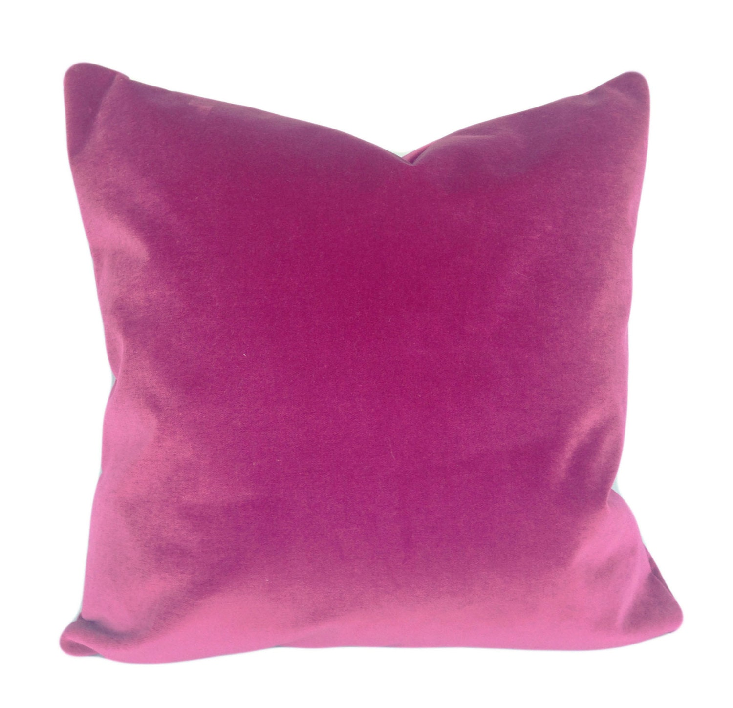 Etsy Pink Throw Pillow : Pink Velvet Pillow Cover Throw Pillow by PillowTimeGirls on Etsy