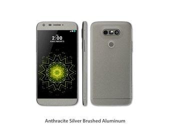 LG G5  Full Body Wrap DECAL Sticker Skin Kit Metal series by Stickerboy - Set 1