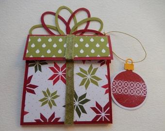 Christmas Present Giftcard Holder