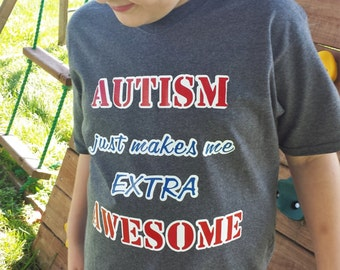 Red, White, and Blue Autism Shirt