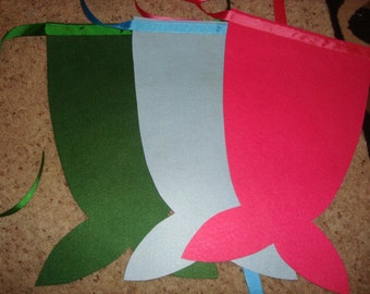 Mermaid fin tails, great for party favors!