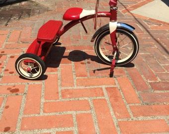 Vintage Radio Flyer Retro Classic Red Tricycle