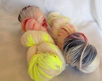Technetium - hand dyed yarn