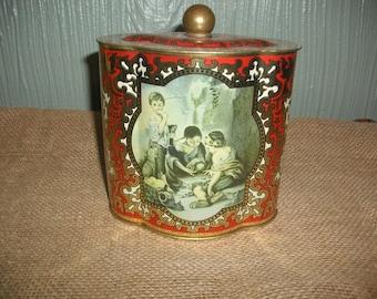 Vintage German Tin Box