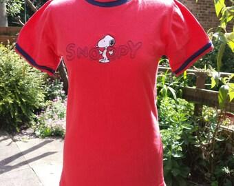 PRICE REDUCED Retro Snoopy T-shirt.