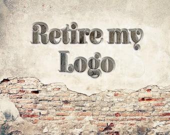 Retire my Logo - Add-on Retire my Logo - Retire Logo Service For Premade Logos