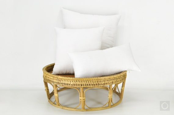 Organic Cotton Throw Pillow Inserts : Natural Pillow Insert 100% Organic Kapok Filling Throw Pillow
