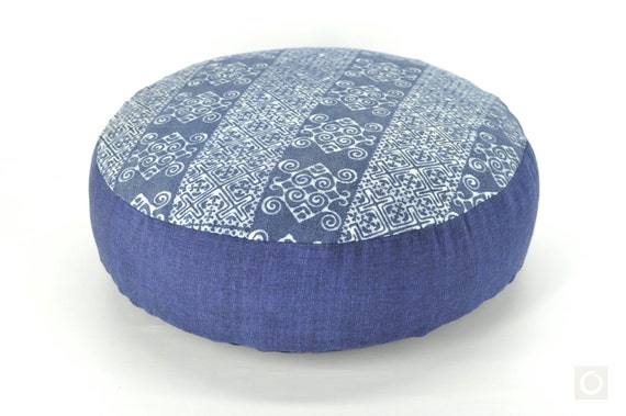 Ethnic Hmong Pillow Round Floor Cushion Meditation Pillow