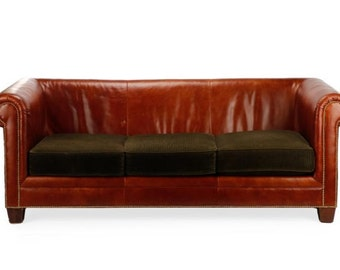 Ralph Lauren - Leather - Gorgeous sofa