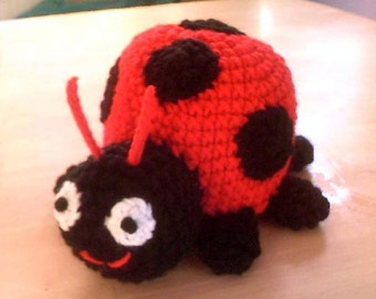 Lady Bug Stuffed Plushie Toy