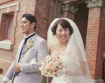 Cypress Rose Bridal Bouquet, Bridal Bouquet, Bridal flowers, bridal accessories, unique bridal bouquet, OOAK bouquet