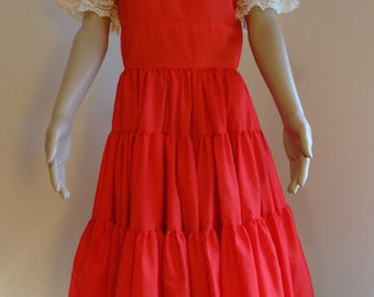 "Vintage Square Dance/Rockerbilly 1950's Dress - Lovely!! Chest 38"" Length 44"""