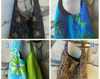 Pre-made hobo bag sale.  Choose 2 of these bags for 40.00. Regular price 32.00 each. Across the body hobo bag,  slouch bag, hippie bag, boho