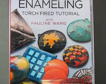 Basic Jewelry Enameling: Torch Fired Tutorial - DVD (VT3037)