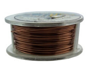 Craft Wire Tarnish Resistant Antique Copper Round Wire 20ga 10yd (WR6720AC)
