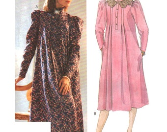 McCalls Sewing Pattern 2167 Misses' Dress by Laura Ashley  Size:  8  Uncut