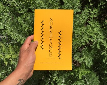 Survivance: Indigenous Poesis Zine