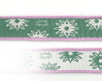 Design twinkle green - star / snowflake