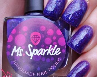 Amethyst/Aquarius~Birthstone/Starsign February Duo Indie Nail Polish Purple Jelly 10 ML