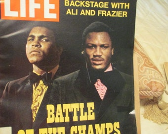 Mohammad Ali and Fraiser Life Magazine
