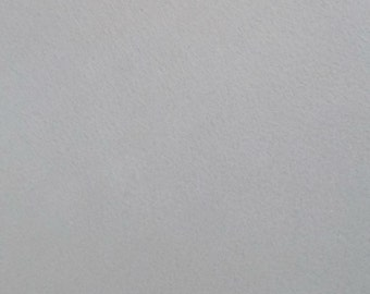 "Silver grey  Felt Sheets 12"" x 12"" inch - 35 colors available - Eco Friendly Craft Felts - Felt Supplies - Square Felt sheet"