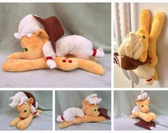 Custom My Little Pony Inspired Applejack Beanie