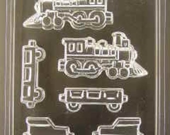 Locomotive chocolate pieces