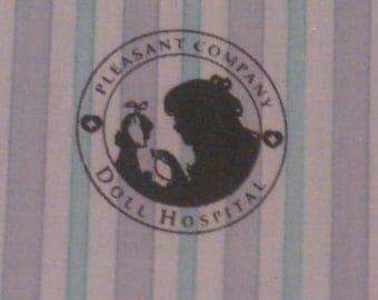 American Girl Pleasant Company Doll Hospital Gown ... First Version ... Mint Condition ... Retired