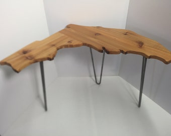 Florida shaped side table