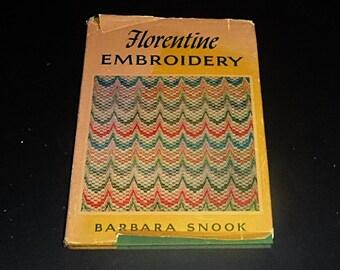1967  Florentine Embroidery Bargello Florentine Flame Stitch