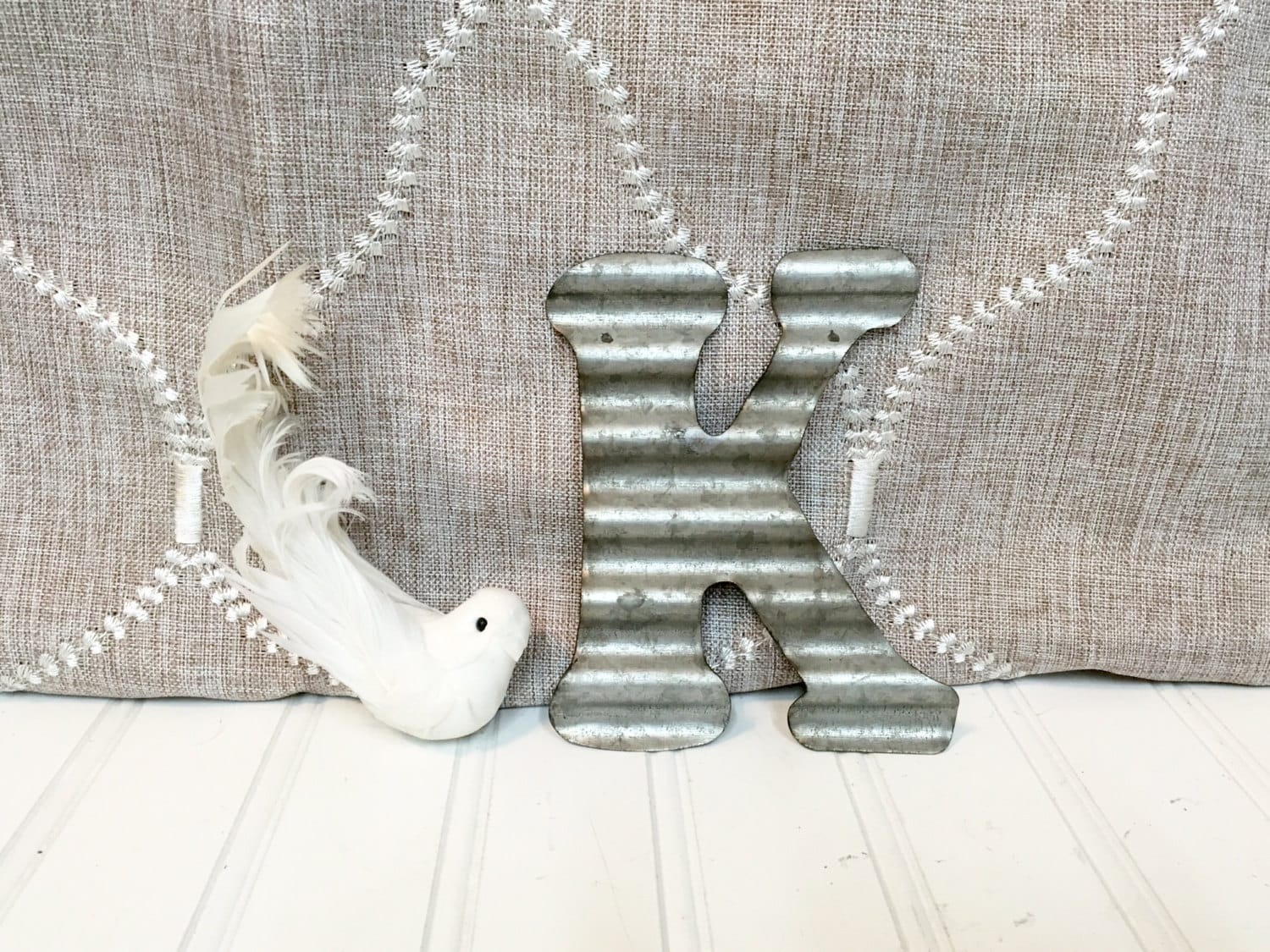 small metal letters letter k 5 1 2 galvanized by With 2 galvanized letters