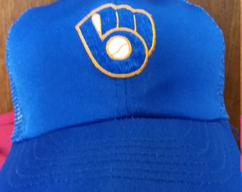 Vintage Milwaukee Brewers Hat