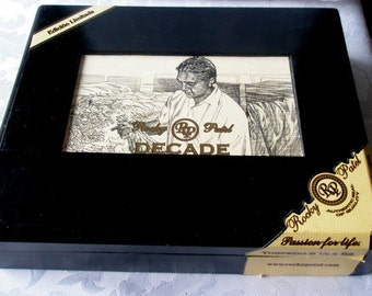 Collectible Rocky Patel Decade Limited Edition Cigar Box