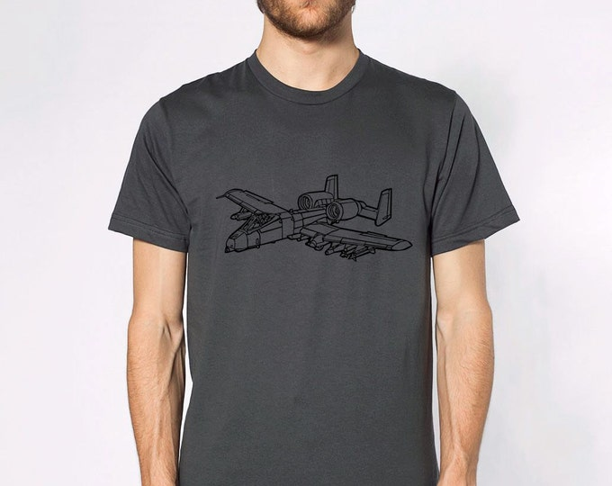 KillerBeeMoto: Fairchild Republic A-10 Thunderbolt II Warthog Short & Long Sleeve Shirt