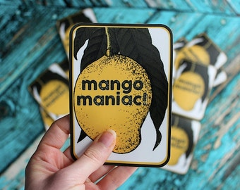 Mango Maniac Mango Lovers Sticker