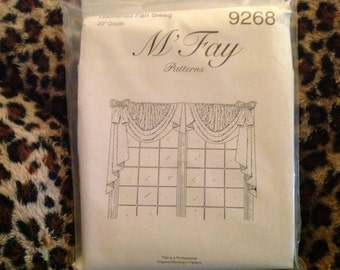 Mfay antoinette professional window treatment for Professional window treatment patterns