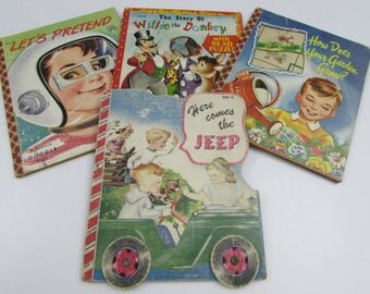 1950's Children's Story Books