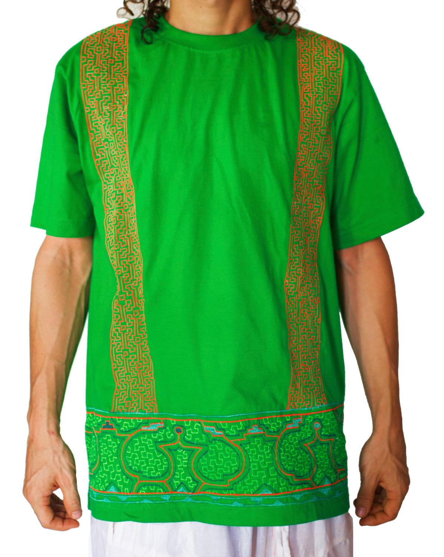 Ayahuasca T-Shirt Shipibo Conibo DMT Psychedelic Artwork