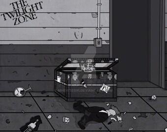 """Twilight Zone """"The Dummy"""" (8.5 x 11 Print)"""