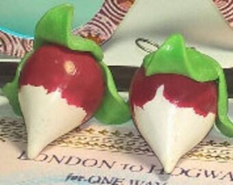 Luna Lovegood Earrings radish