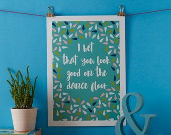 Dance Floor Print
