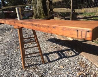 Reclaimed Pine Shelf