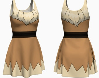 Furry Dress (eevee inspired)