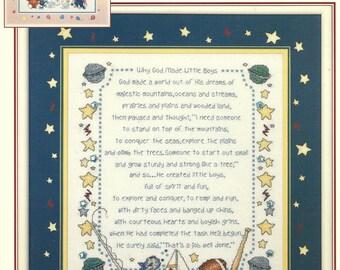 Stoney Creek: Why God Made Little Boys & Girls Cross Stitch Charts