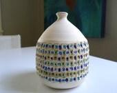 Mid Century Modern Weedpot, Studio Pottery Vase, Art Pottery