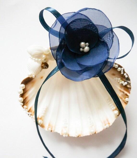 Shell ring holder, Wedding Ring Holder, Seashell Ring Bearer Wedding Ring, Ring Bearer Beach Wedding Sea Shell Ring Bearer,Lilac ring holder by NLcreation