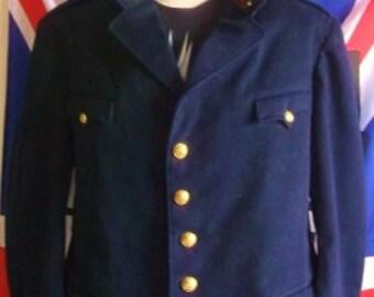 """STEAMPUNK TRUE Vintage Military Jacket.38/40"""" CHEST"""