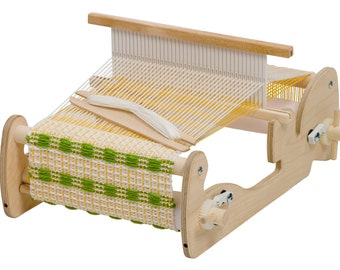"10"" Cricket Weaving Loom by Schacht, Great Gift Loom, everything you needed is included, Rigid Heddle Weaving Kit"