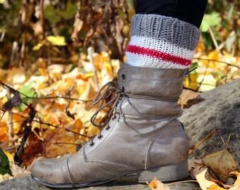 Leg warmer low effect of wool - Small legwarmer